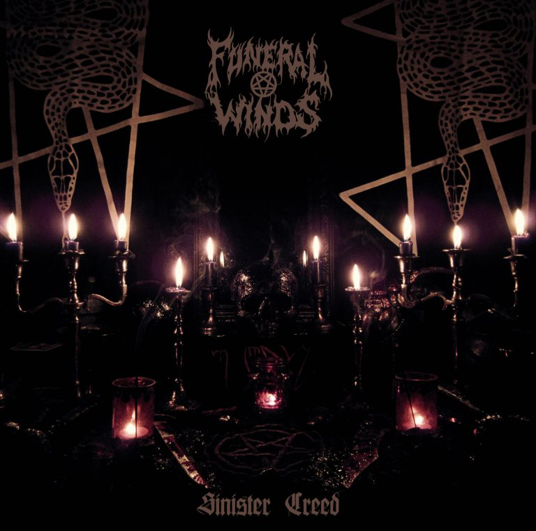 funeral winds sinister creed albumcover