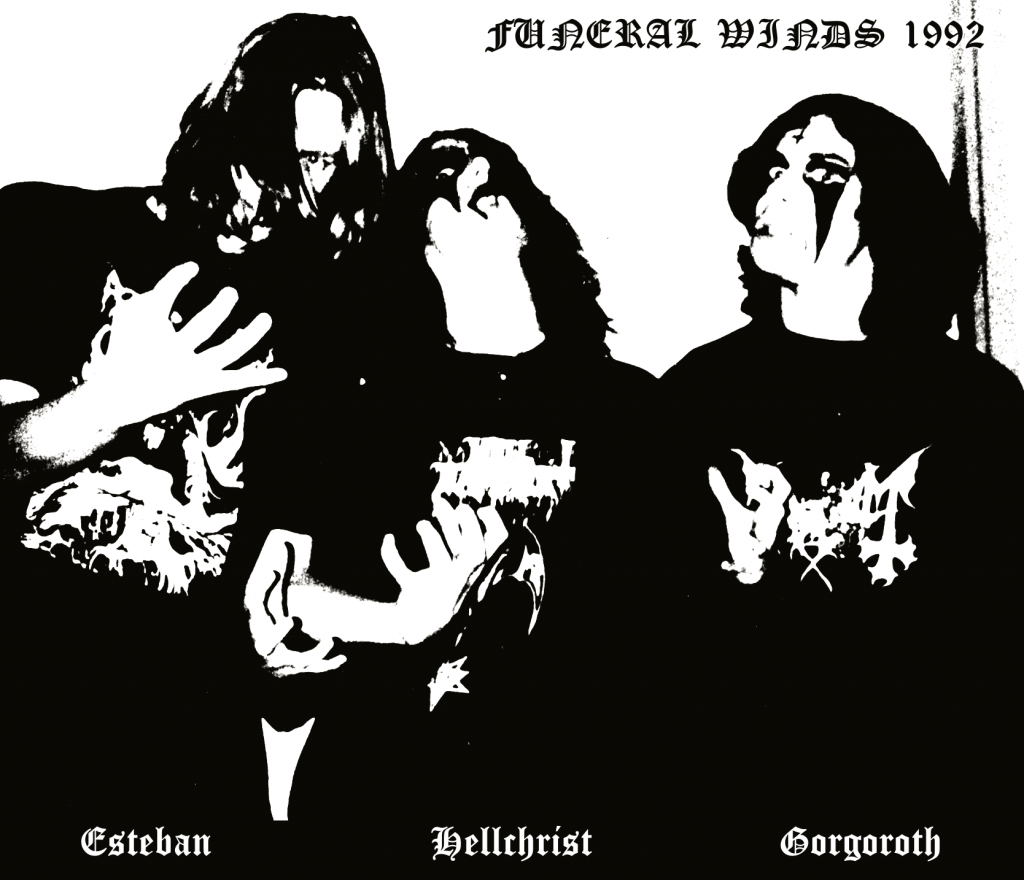 Funeral Winds The Unheavenly Saviour Promo Photo